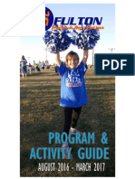 City of Fulton Parks and Recreation Program and Activity Guide - Fall 2016