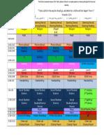 2016-2017classroom schedule