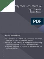 Radical Polymerization