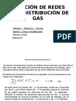 SOLUCIÓN DE REDES PARA DISTRIBUCIÓN DE GAS (Métodos NR y HC).pptx