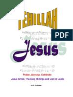 tehillah chordbook 2010
