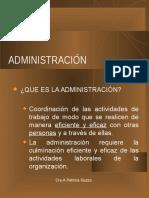 Administracion y sus origenes