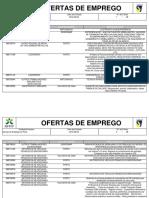 Serviços de Emprego Do Grande Porto- Ofertas Ativas a 29 08 16