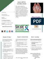 suicidebrochure for parents- final