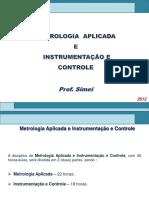 Metrologia Aplicada e Instrumentac3a7c3a2o e Controle II Simei