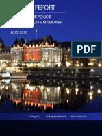 2015-2016 OPCC Annual Report