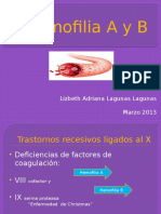 HEMOFILIA A Y B