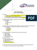Exercícios de Fixação i - Capítulo 3 - Registro Contabil (Gabarito)