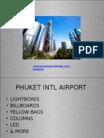 Phuket Airport Media | Outdoor advertising |
