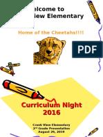 curriculum night 2016 bates