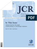 Journal of CyberTherapy and Rehabilitation, Volume 3, Issue 2, 2010