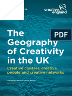 The Geography of Creativity in the Uk