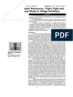 Life of Huwoman Resouce- Fight, Fight and Fight a Case Study, 2014