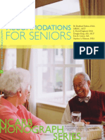 Accomodations for Seniors