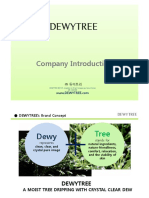 DEWY TREE Introduction