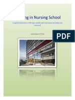 guide to thriving in nursing school