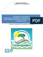 Plan de Accion Corpoguajira 2016 2019
