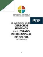 Bol Informe Ddhh 2015 Defensor Del p