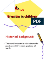 Bruxism in Children Pedo