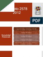 Presentación Decreto 2578 2012