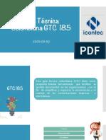 Presentación GTC 185