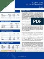 2016 Net Lease Dollar Store Report
