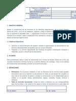 PROCEDIMIENTO Archivo General