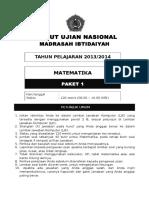 Latihan soal UN Matematika
