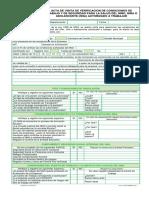 Acta de Visita Verificacion Condiciones de Trabajo Ninos y Adolescentes IVC