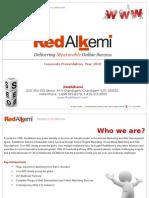 RedAlkemi - Corporate Presentation