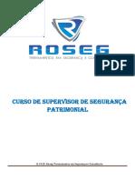 CURSO de Supervisor de Segurança Patrimonial