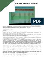 610_Data Statistik Nilai Nasional SBMPTN