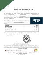 Certificacion de Ingreso Anual de Paula 2016