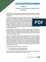 UNIDAD I-Metodología de La Investigación-Generación de Ideas