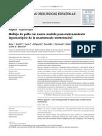 Molleja de Pollo Un Nuevo Modelo Para Entrenamiento Laparoscopico de La Anastomosis Uretrovesical