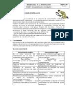 """1. Conceptos Basicos Sobre Investigaciã""""n 2015"""