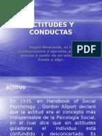 Actitudes y Conductas