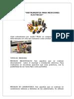 unidad 3 instrumentos de medicion electrica