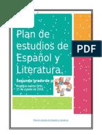 Plan de estudio de Español y Literatura.