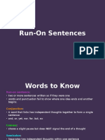run-on sentences lesson with practice questions