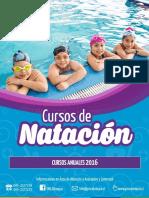 Cursos de Natación Anual 2016