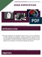 12. Patologías especificas