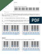Exercícios teclado volume 1