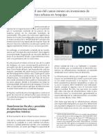 Analisis Del Uso Del Canon Minero en Inversiones de Infraestructura Urbana en Arequipa