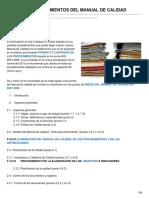 Asesordecalidad.blogspot.com-índice de Procedimientos Del Manual de Calidad