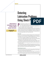 Detecting Lube Problems Shock Pulse
