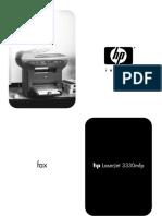 HP LaserJet 3330MFP Fax Guide