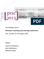 Proceedings 2013