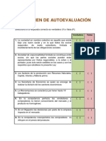 Examen de Autoevaluación Microeconomia