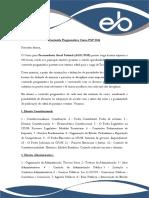 Conteúdo Programático Curso Pgf 2016